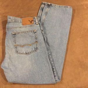 Men's American Eagle Jeans Straight 33 33x32